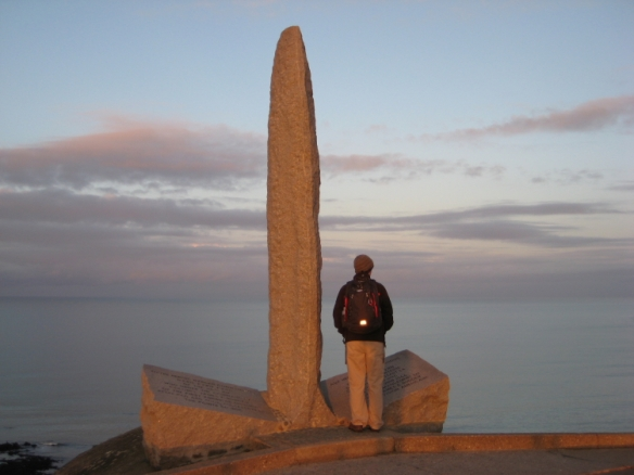 Pointe-du-Hoc monument