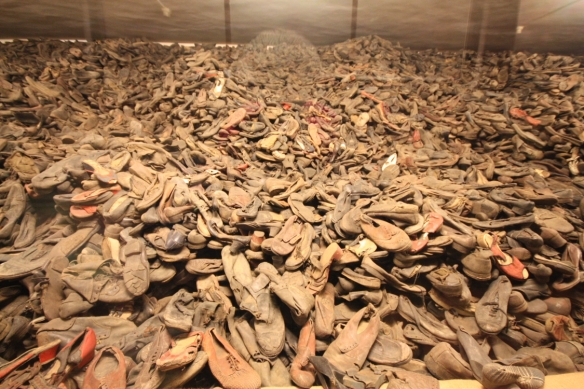 Prisoners' shoes