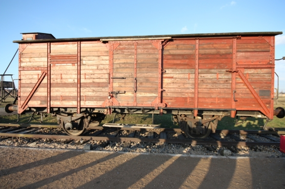 Rail car that carried deportees